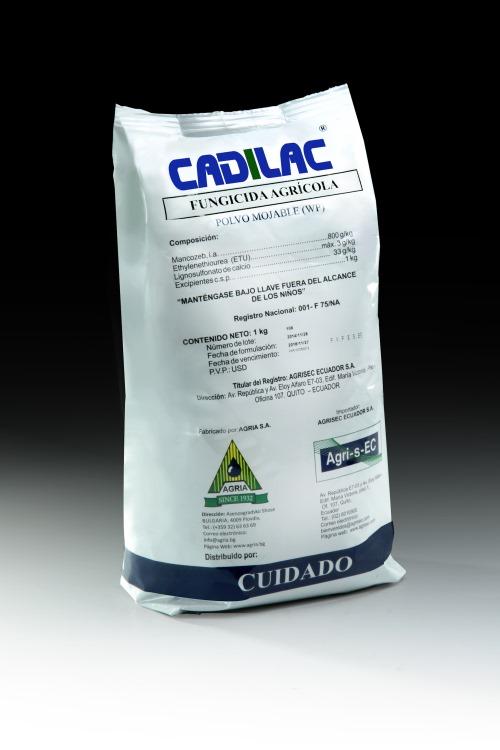 CADILAC (mancozeb 800 g/kg WP) – yellow and blue – Agrisec